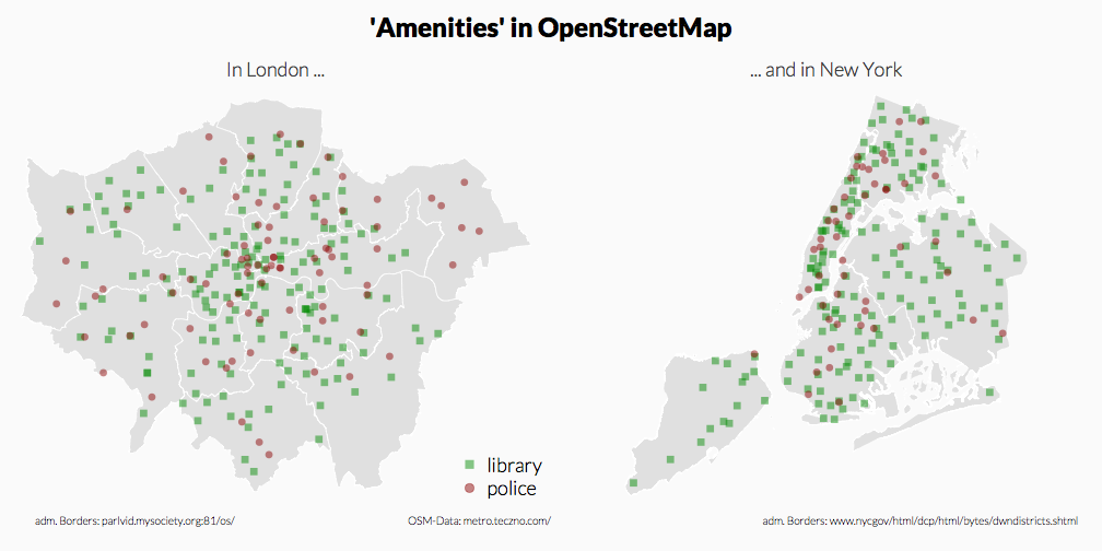 City Maps with OpenStreetMap Data (Panel)